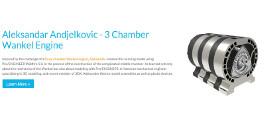 Aleksandar Andjelkovic - 3 Chamber Wankel Engine