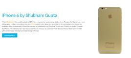 iPhone 6 by Shubham Gupta